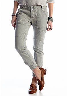 Free People Railroad Stripe Capri