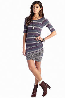 Free People Border Print Bodycon