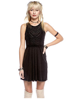 Free People Sassy Soutache Knit Dress