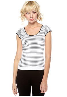 Free People Seamless Stripe Knit Top