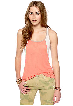 Free People Color Block Tank
