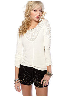 Free People Barton Springs Knit Top