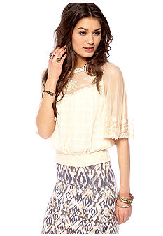 Free People Planetary Rose Top
