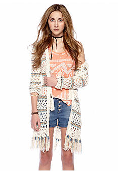 Free People Sunblock Hooded Cardi
