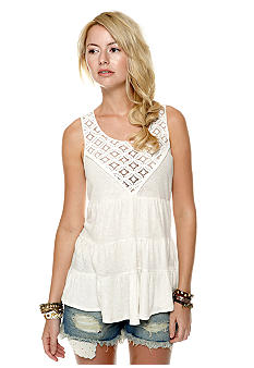Free People Dorothy Babydoll Top