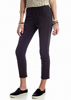 Free People High Rise Gummy Crop Pant