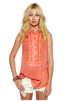 Free People Sleeveless Tunic Top