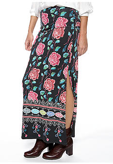 Free People Drippy Knit Skirt