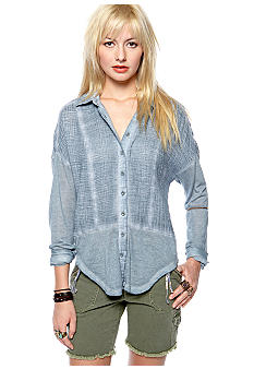 Free People Zahara Button Down Shirt