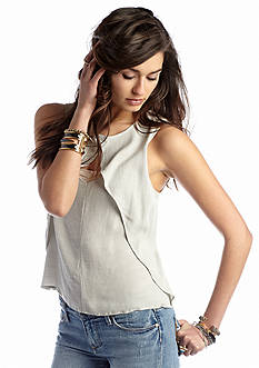 Free People Solid Look Through Top