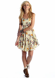 Free People Circle of Flowers Slip