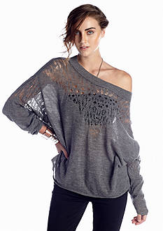 Free People Pointelle Ballet Sweater
