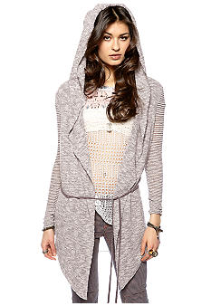 Free People For Keeps Hooded Cardigan