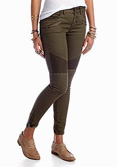 Free People Seamed Moto Skinny