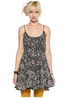 Free People Pintuck Gauze Dress