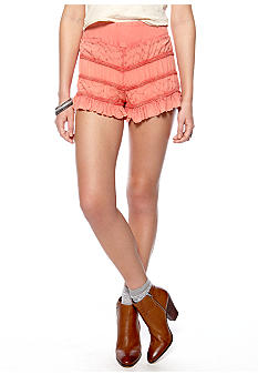 Free People Tiered Ruffle Short