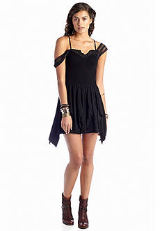 Free People Miss Mini Fit & Flare Dress