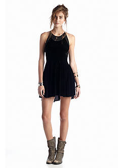 Free People Night Shade Mini Dress