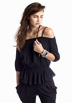 Free People Solid Shades of Cool Top