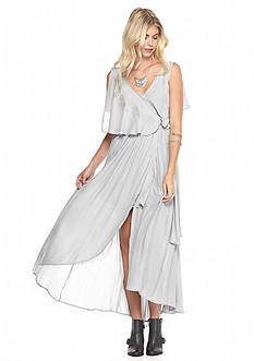 Free People Chiffon Fiona Sleeveless Maxi Dress