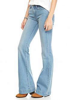 Free People Gummy Denim Flare Jeans