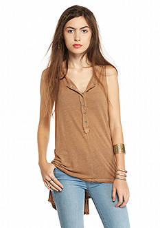 Free People Jersey Union Henley Top