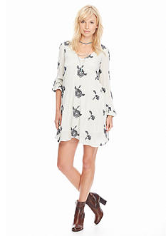 Free People Emma's Embroidered Dress