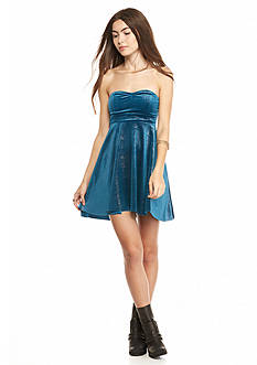 Free People Shattered Shine Knit Tube Dress