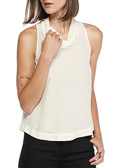 Free People City Lights Cowl Top