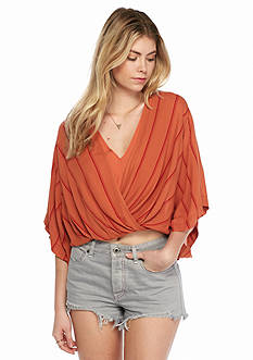 Free People Sleepy Time Striped Kimono