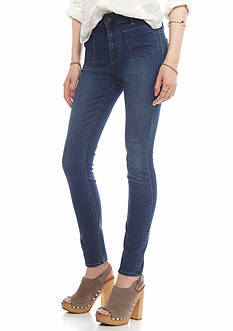 Free People Beverely High Rise Skinny Jeans
