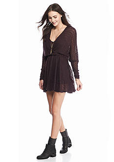 Free People Snug Bug Wrap Dress
