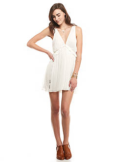 Free People Forget Me Not Rio Grande Mini Dress