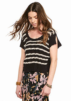 Free People Wide Rib Sweater Tee