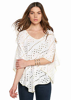 Free People Dot to Dot Tee