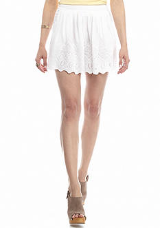 Free People Azalea Eyelet Shorts