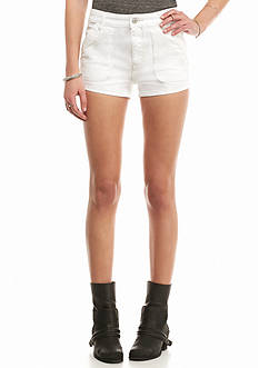 Free People White Sweet Surrender Short