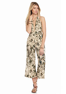 Free People Twisted Halter One Piece Jumpsuit