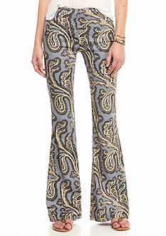 Free People Dark Paradise Flare Pants