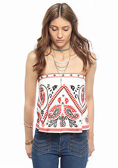 Free People Flirt Alert Tube Top