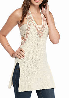Free People Hold On Tunic Top