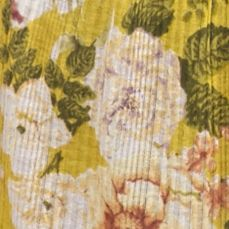 Womens Designer Clothing: Tops: Sun Yellow Combo Free People Mirage Tube Top