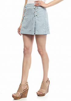 Free People Railroad Stripe Skirt