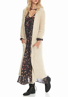Free People Hampton Shaggy Cardigan