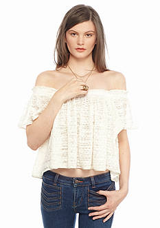 Free People Thrills and Frills Top