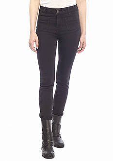 Free People Black Beverly Skinny Jeans