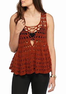Free People Circles Within Circles Top