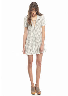 Free People Melody Printed Mini Dress