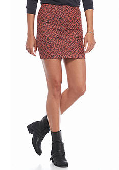 Free People Printed Modern Femme Skirt