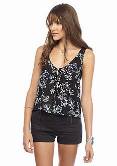 Free People Rose Printed Cami